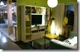 学習机に行く前のリビング棚