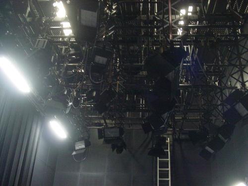 スタジオの天井