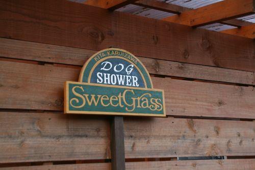 ドッグシャワー