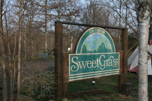 SweetGrassの看板